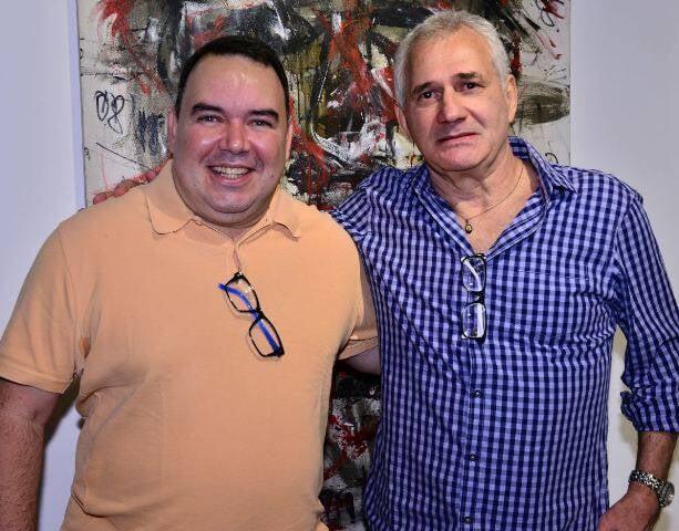 Roberto Barciela e Marcio Atherino
