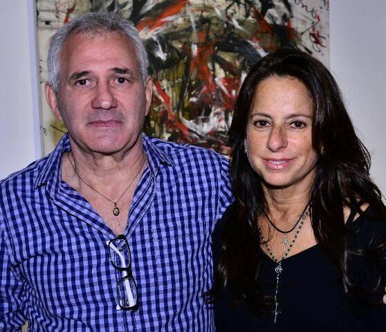 Marcio Atherino e Flávia Tamoyo