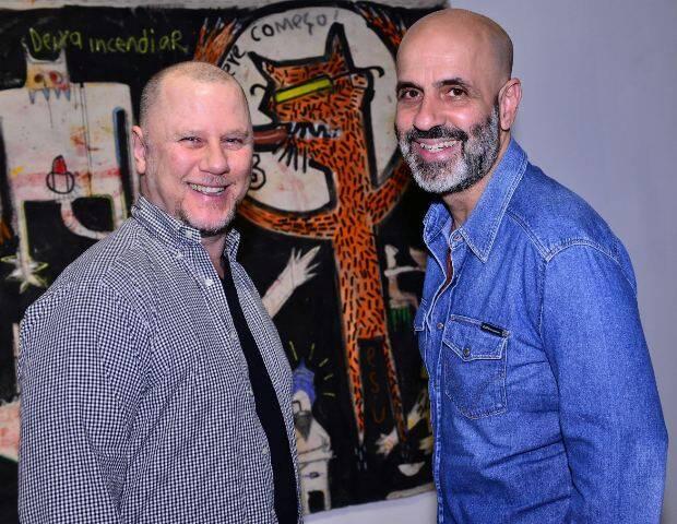 Gustavo Carvalho e Claudio Gomes