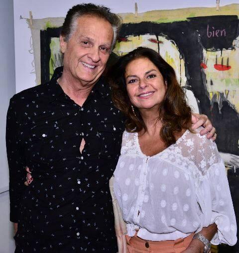 Eduardo Alencasteo e Andréa Muricy