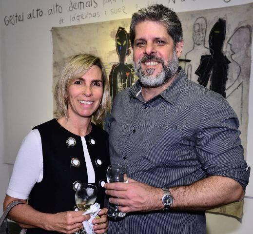 Patricia Ibeas e José Antônio Macdowell