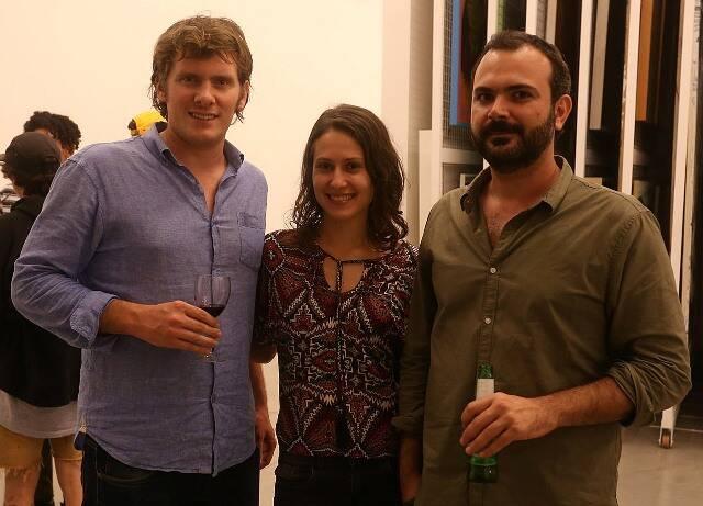 Florian Fournier, Glaudia Costacoi e Brunno Jahara