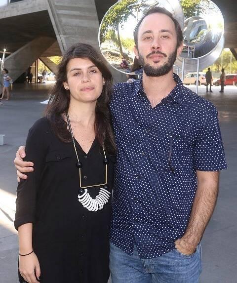 Gustavo Prado e Fernanda Lopes