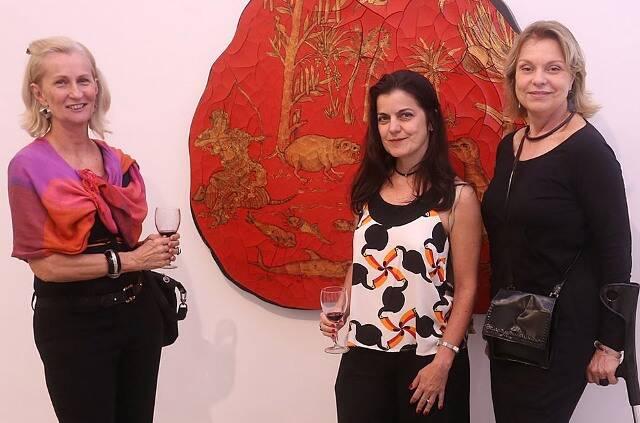 Leila Horta, Flávia Portela e Laura Burnier
