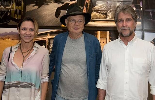 Claudia Melli, Miguel Rio Branco e João de Orleans e Bragança