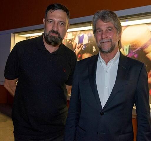 Roberto Guimarães e João Orleans e Bragança