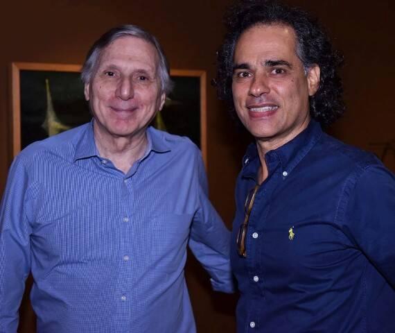 Carlos Zílio e Franklin Pedroso