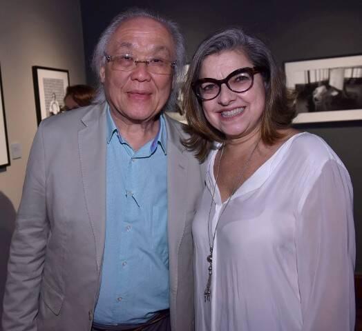 Ricardo Ohtake e Dora Silveira
