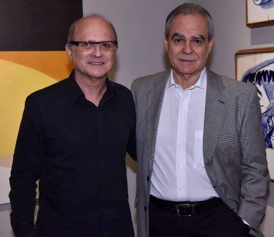 Márcio Doctors e Max Perlingeiro
