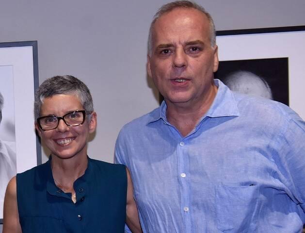 Nana Moraes e Ricardo Fasanello