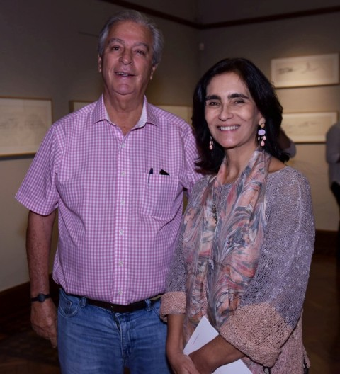 Luiz Sevè e Katia Mondlin Leite Barbosa