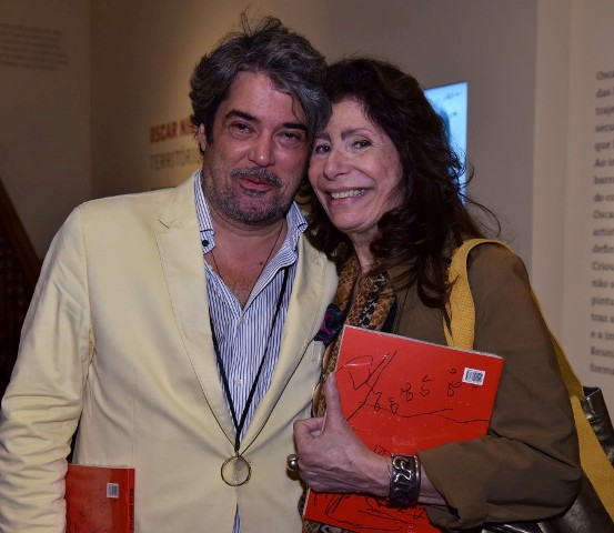 Julio Bandeira e Anna Maria Tornaghi
