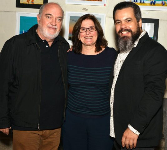 Carlos Bertão, Tereza Accioly e Alê Teixeira