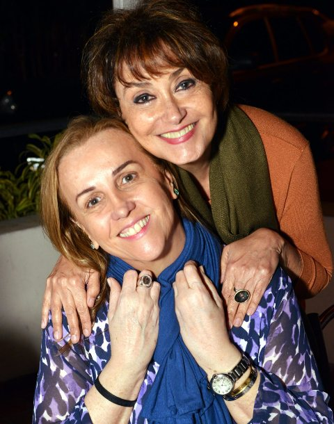 Lucinha Amorim e Claudia Cabral