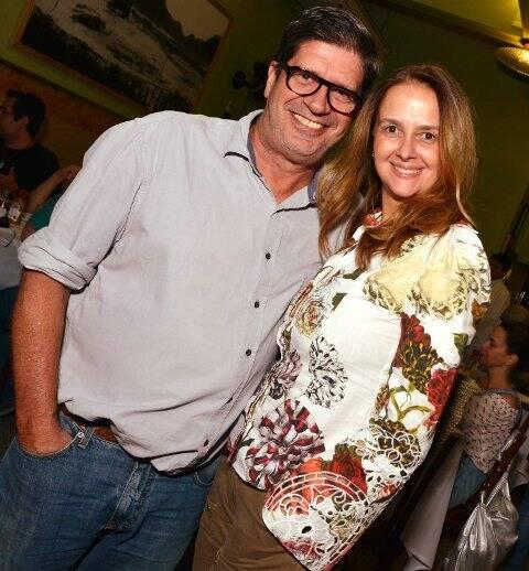 Sérgio Serzedelo e Ana Spiller