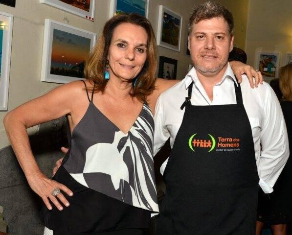 Patricia Secco e Leonardo Leal