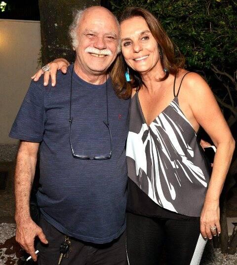 Tonico Pereira e Patricia Secco