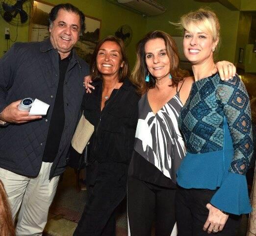 Catito Peres, Luciana Guanabara, Patricia Secco e Geórgia Wortmann