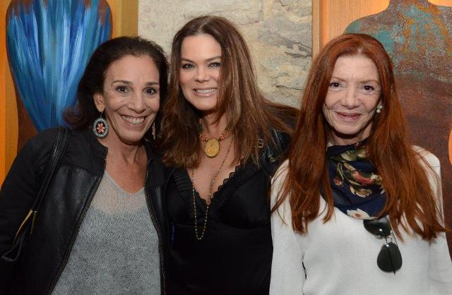 Alicinha Silveira, Flávia Curvello e Teresa Freire