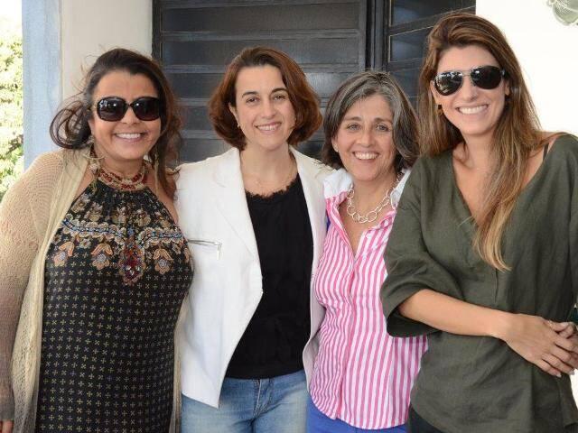 Anna Accioly, Simone Lara, Bitty Pottier e Renata Adler
