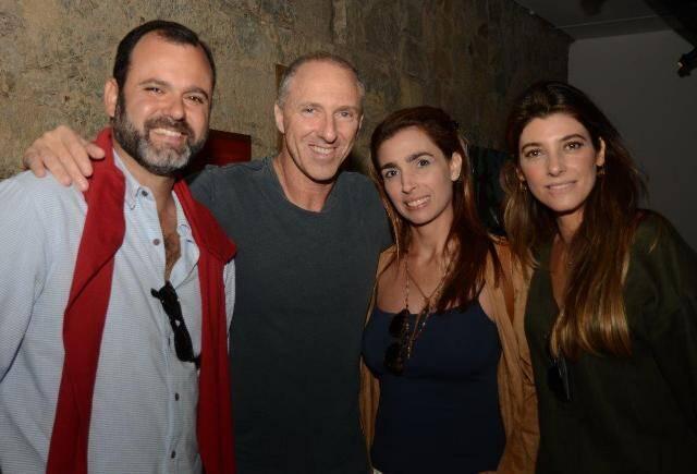 Erick Figueira de Mello, Allan Adler, Anne Figueira de Mello e Renata Adler