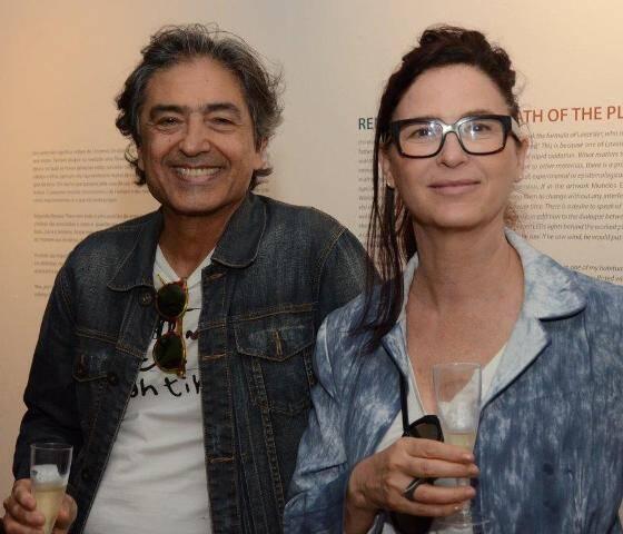 Paulo Barroso e Marta Dornelles