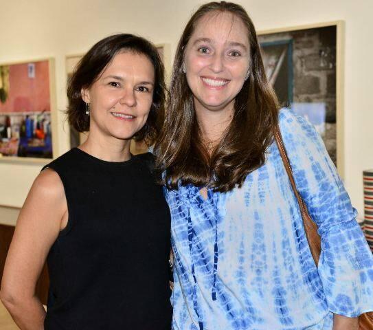 Celina Alvim e Adriana Valle