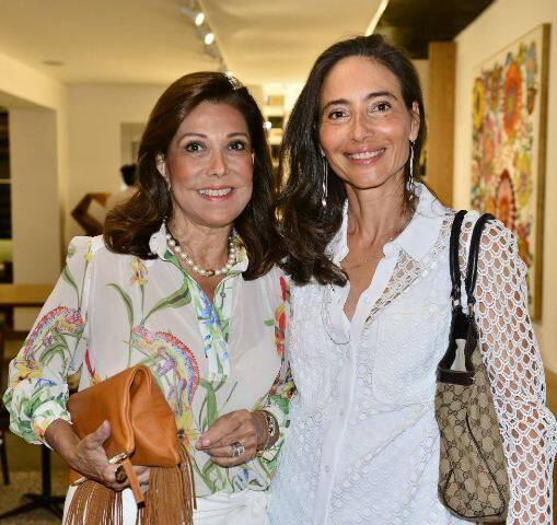 Anna Luiza Rothier e Manuele Colas