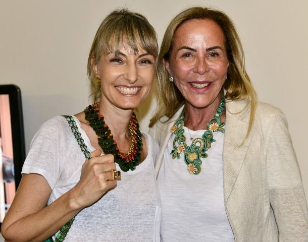 Patrícia Marinho e Etel Carmona