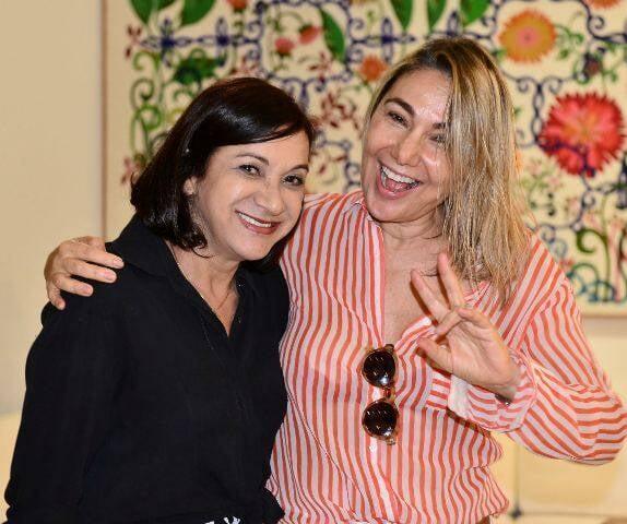 Sueli Bombiere e Marcia Müller