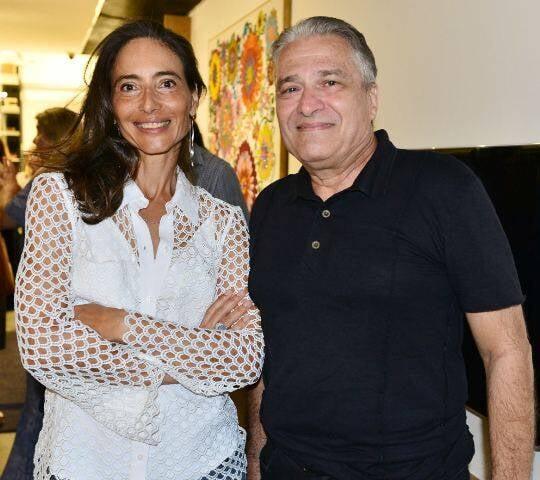 Manuele Colas e Luiz Marinho