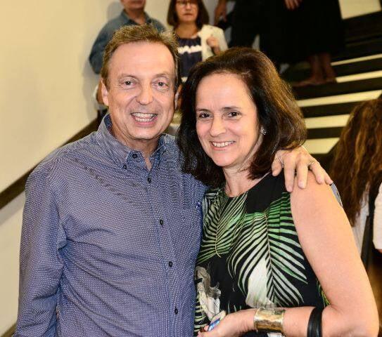 Francisco Grabowsky e Patrícia Quentel