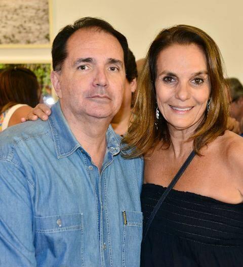 Fred Chinelli e Patrícia Secco