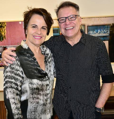 Leila Pinheiro e João Caetano