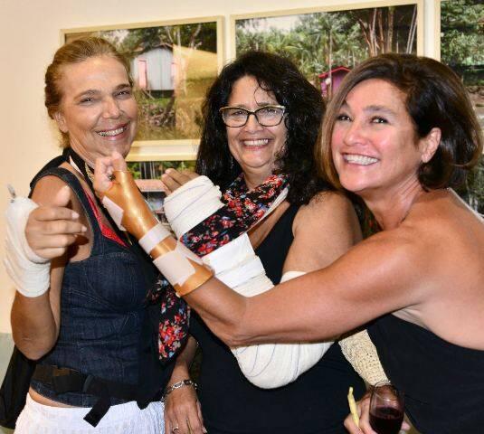 As mulheres de braço quebrado: Cecília Mendes de Almeida, Renata Figueiredo e Andréa Prado