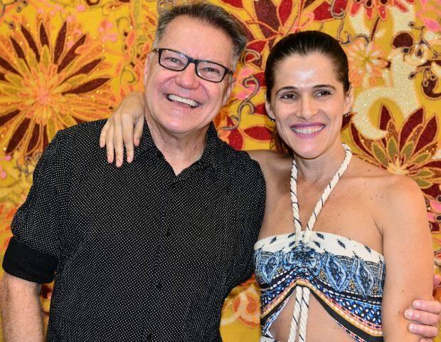 João Caetano e Ingrid Guimarães