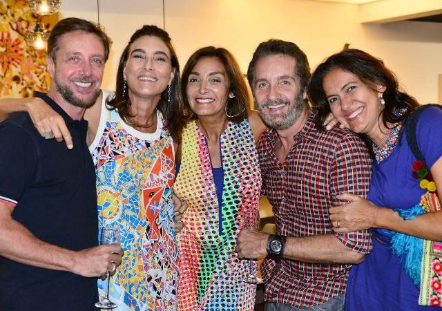Nando Grabowsky, Mucki Skowronski, Lucia Guanabara, Pedro Guimarães e Andréa Liberal