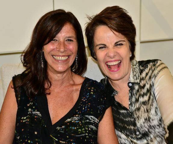 Fernanda Pinto e  Leila Pinheiro