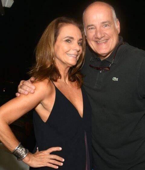 Patricia Secco e Marcelo Itagiba