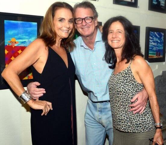 Patricia Secco, Lulu Salles e Sandra Tolpiakow