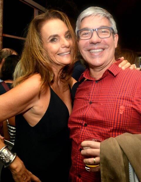 Patricia Secco e Gilberto Scofield