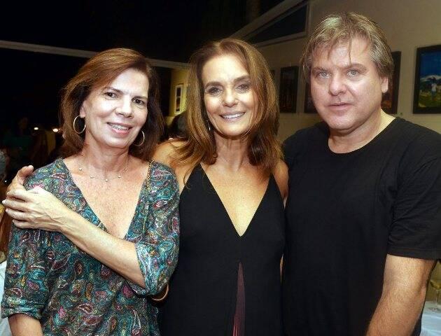 Maria Pia Lins de Barros, Patricia Secco e Dudu Garcia