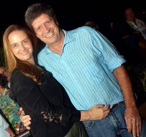 Ana Spiller e Sérgio Machado