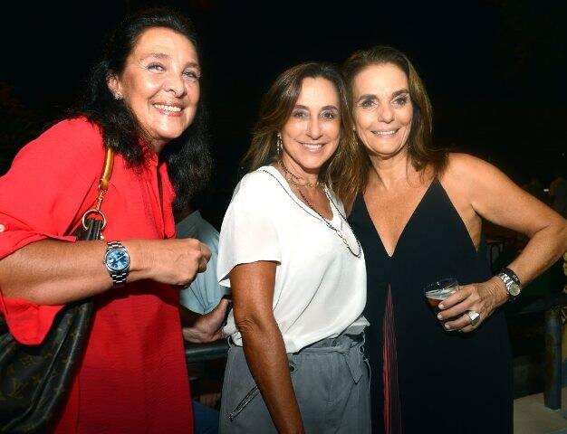 Cristiana Malta, Mabity Pereira da Silva e Patricia Secco