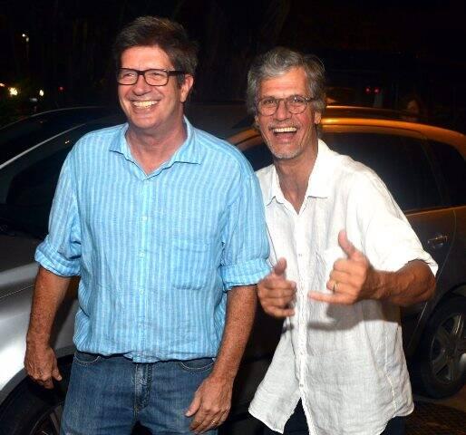 Sérgio Machado e Ricardo Hachiya