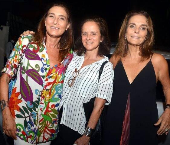 Mucky Skowronsky, Patricia Quentel e Patricia Secco