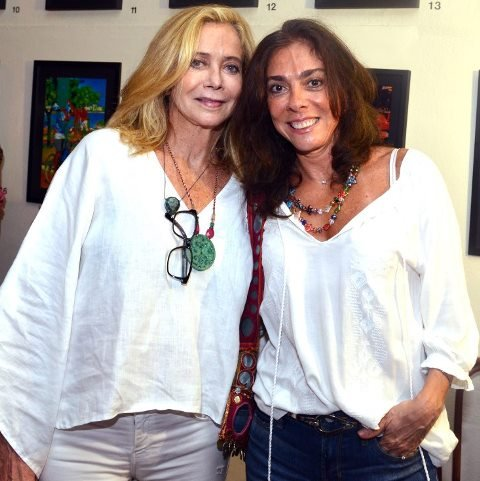 Angela de Carvalho e Ana Luiza Rego