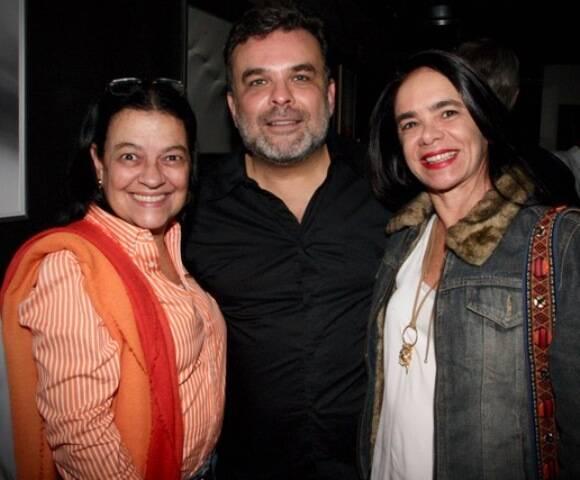 Raquel Resende, Ariosto Amado e Karla Vilar