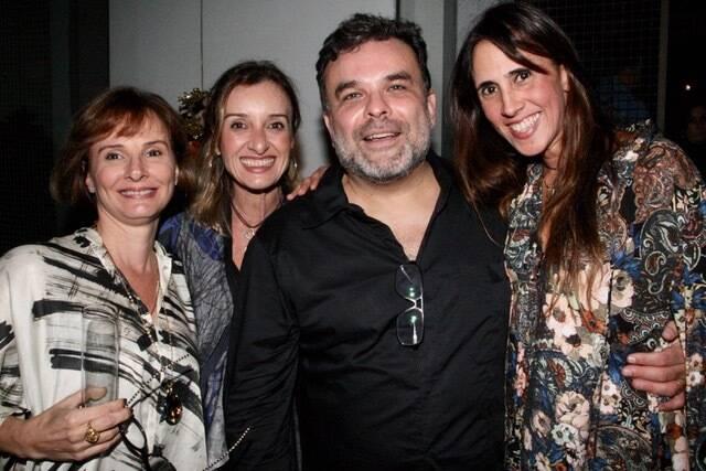 Míriam Amado, Sheila Saboia, Ariosto Amado e Lucca Malta