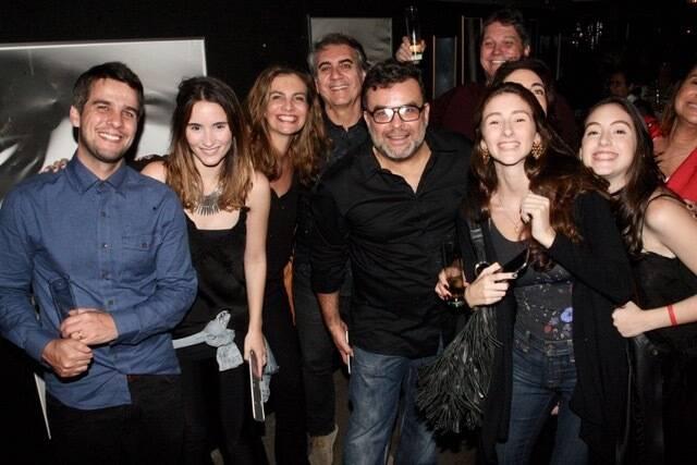 Ariosto Amado com vários amigos